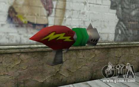 Cortexs Ray Gun for GTA San Andreas second screenshot