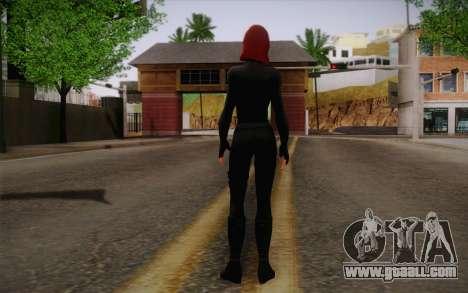 Scarlet Johansson из Avengers for GTA San Andreas second screenshot