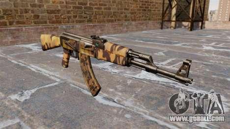 The AK-47 Fall for GTA 4