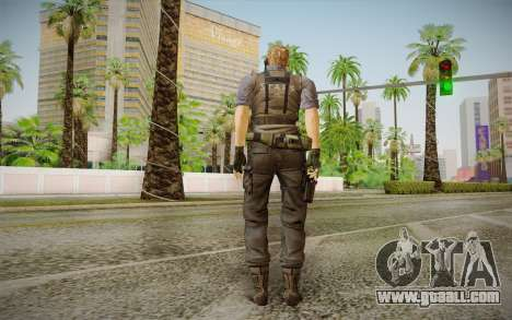 Wesker Stars from Resident Evil 5 for GTA San Andreas second screenshot