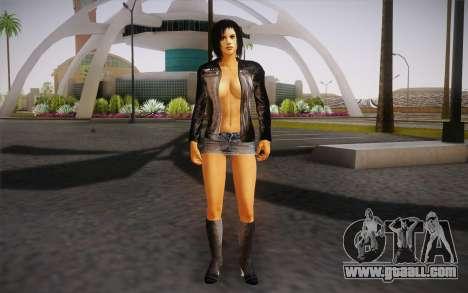 Jill Biker for GTA San Andreas