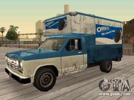 New advertising on cars for GTA San Andreas ninth screenshot