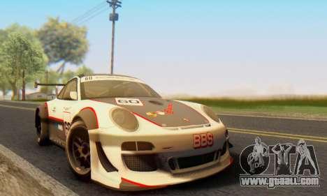 Porsche GT3 R 2009 for GTA San Andreas left view