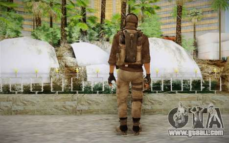 Mercenary in the armor (COD MW3) for GTA San Andreas second screenshot