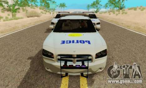 Pursuit Edition Police Dodge Charger SRT8 for GTA San Andreas left view