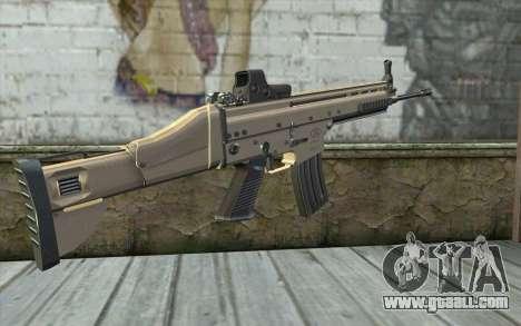 SCAR-L Custom for GTA San Andreas second screenshot