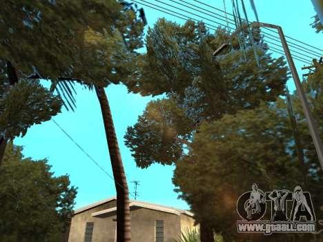 Jungle on a street Aztec for GTA San Andreas fifth screenshot