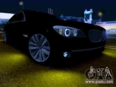 BMW 750li for GTA San Andreas right view