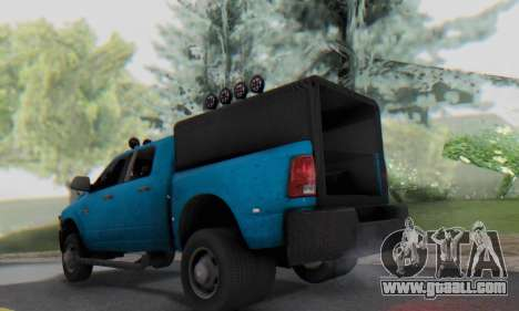 Dodge Ram 3500 Super Reforzada for GTA San Andreas right view