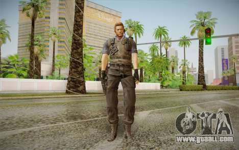 Wesker Stars from Resident Evil 5 for GTA San Andreas