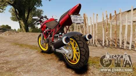 GTA V Principe Nemesis for GTA 4 back left view