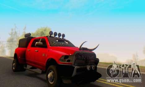 Dodge Ram 3500 Super Reforzada for GTA San Andreas