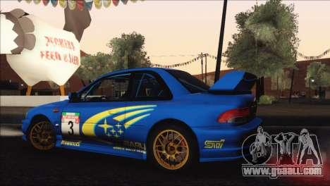 Subaru Impreza 22B STi 1998 for GTA San Andreas engine