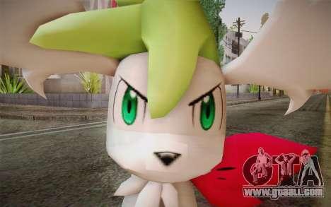 Shaymin Sky from Pokemon for GTA San Andreas third screenshot