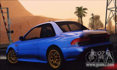 Subaru Impreza 22B STi 1998 for GTA San Andreas left view