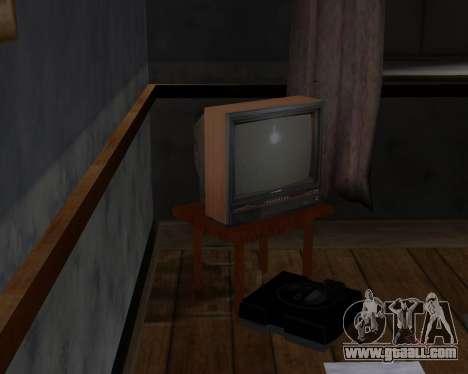 Colour television alpha TC-DU for GTA San Andreas third screenshot