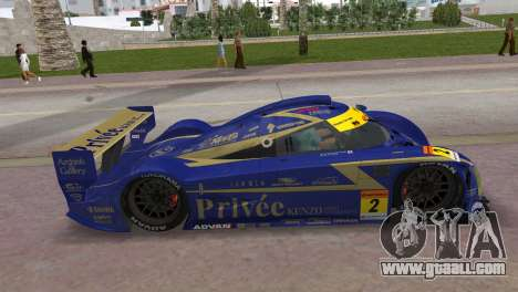 Bentley Privee KENZO Asset Shiden Super GT for GTA Vice City back left view