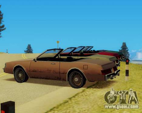 Majestic Convertible for GTA San Andreas right view