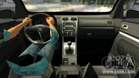 Volkswagen Golf V GTI for GTA Vice City back left view