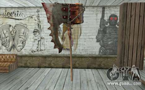 The executioner's axe (Resident Evil 5) for GTA San Andreas