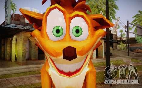 Crash Bandicoot (Crash Of The Titans) for GTA San Andreas third screenshot