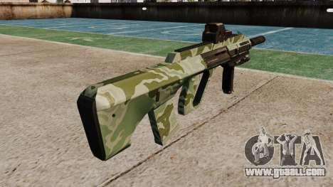 Автомат Steyr AUG-A3 Optic Green Camo for GTA 4 second screenshot