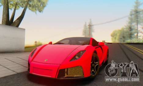 GTA Spano 2014 HQLM for GTA San Andreas