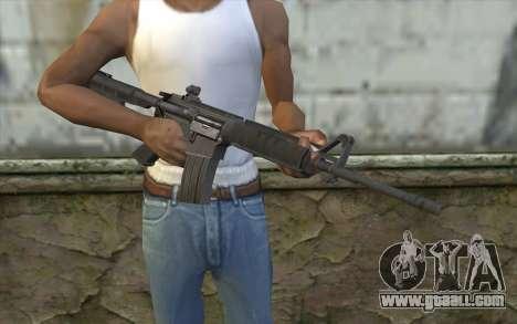SGW M4 Rifle for GTA San Andreas third screenshot