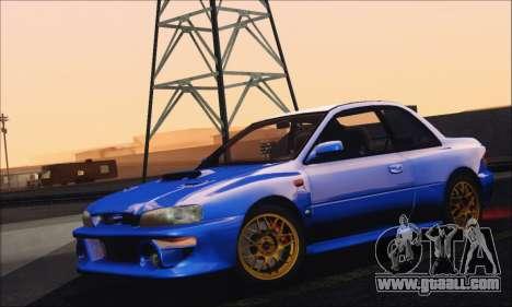 Subaru Impreza 22B STi 1998 for GTA San Andreas back view