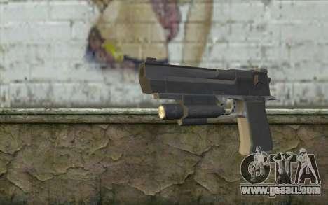 Desert Eagle from Modern Warfare 2 for GTA San Andreas