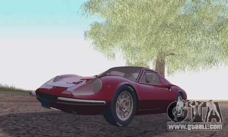 Ferrari Dino 246 GTS Coupe for GTA San Andreas