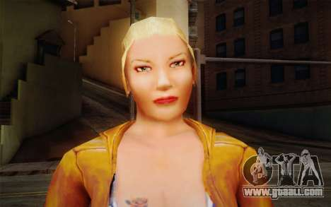Woman Autoracer from FlatOut v1 for GTA San Andreas third screenshot