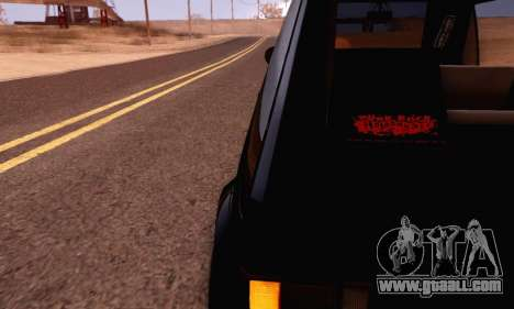 Volkswagen Golf Mk I Punk for GTA San Andreas right view