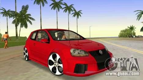 Volkswagen Golf GTI W12 for GTA Vice City