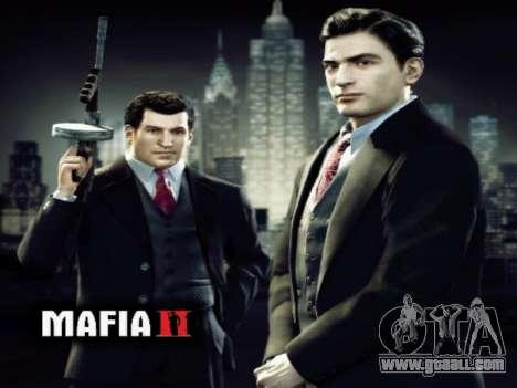 Boot screen Mafia II for GTA San Andreas third screenshot