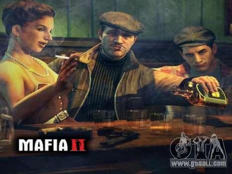 Boot screen Mafia II for GTA San Andreas fifth screenshot