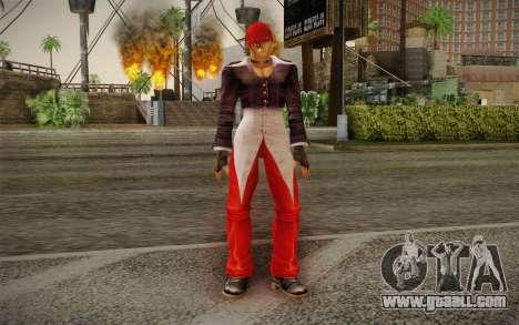 Iori Yagami for GTA San Andreas