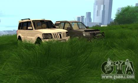 Mahindra Scorpio for GTA San Andreas side view