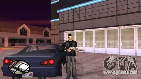 Retexture pants from Binco for GTA San Andreas forth screenshot