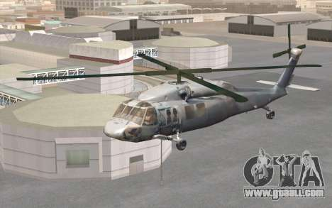 UH-60 Blackhawk for GTA San Andreas right view
