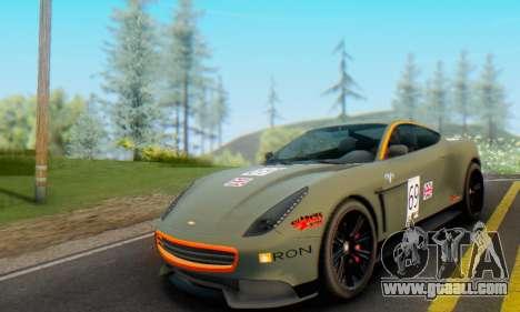 Dewbauchee Massacro 1.0 for GTA San Andreas inner view