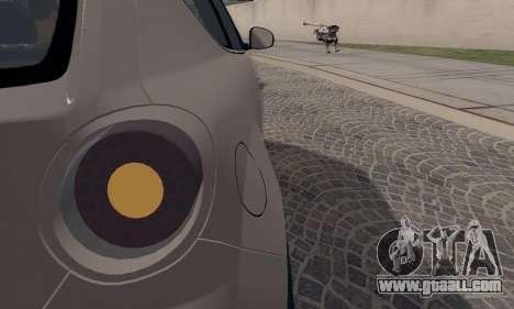 Afla Romeo Mito Quadrifoglio Verde for GTA San Andreas bottom view
