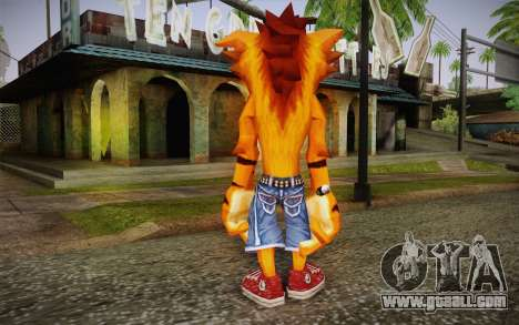 Crash Bandicoot (Crash Of The Titans) for GTA San Andreas second screenshot