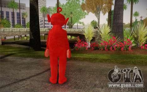 (Teletubbies) for GTA San Andreas second screenshot