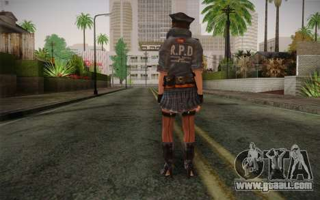Helena Harper Police Version for GTA San Andreas second screenshot