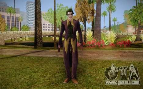 Joker from Injustice for GTA San Andreas