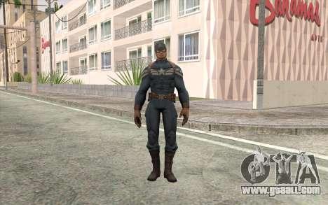 Captain America for GTA San Andreas