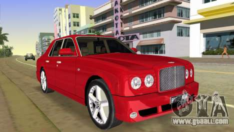 Bentley Arnage T 2005 for GTA Vice City