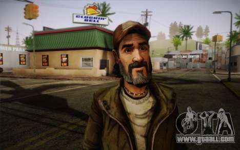 Kenny из The Walking Dead for GTA San Andreas third screenshot