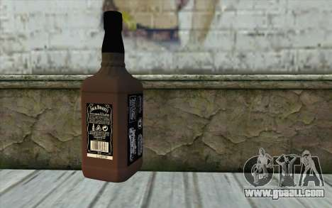 Jack Daniels Whiskey for GTA San Andreas second screenshot